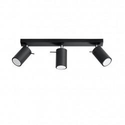Plafonas RING 3 juodas - 4 - 47,60€