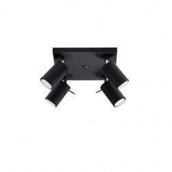 Plafonas RING 4 juodas - 4 - 63,38€