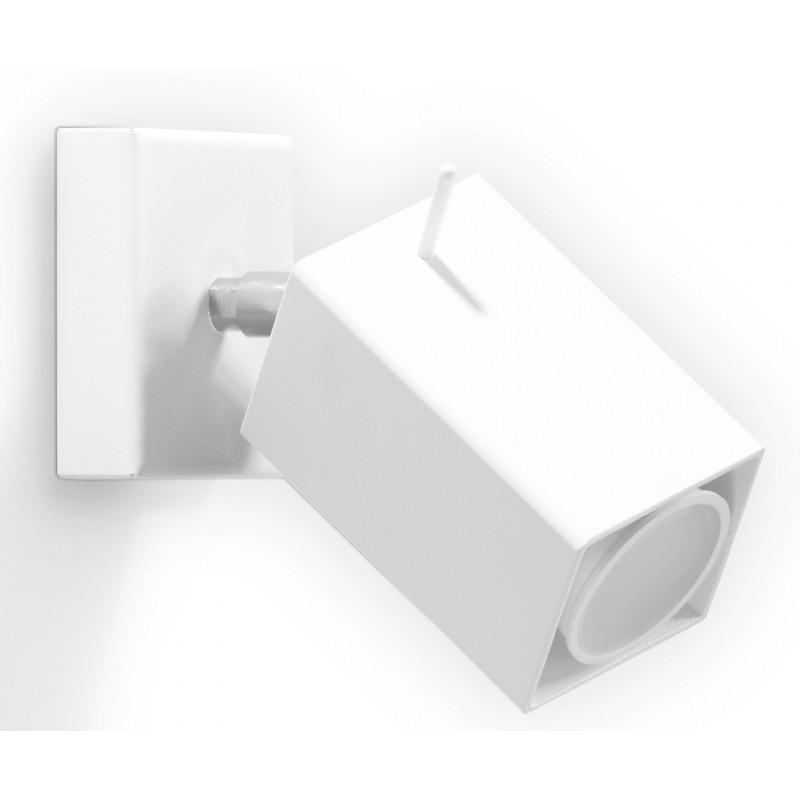 Sieninis šviestuvas MERIDA baltas - 1 - 21,42€