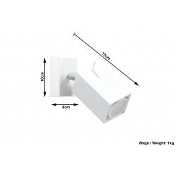 Sieninis šviestuvas MERIDA baltas - 5 - 21,42€