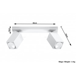 Plafonas MERIDA 2 baltas - 5 - 38,84€