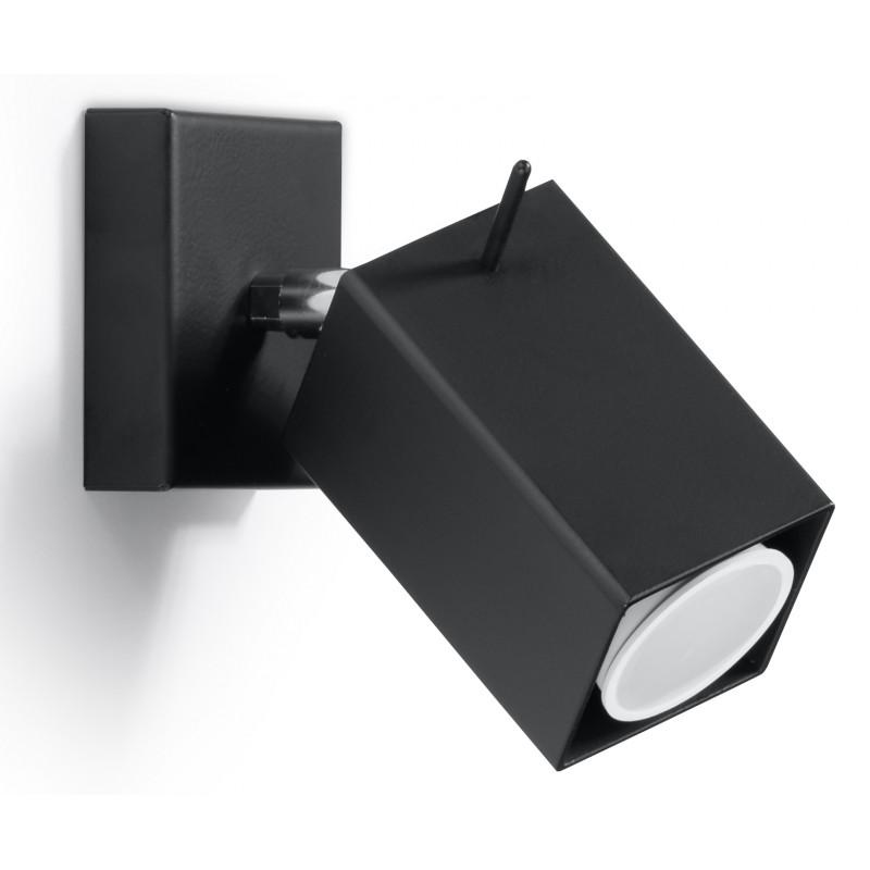 Sieninis šviestuvas MERIDA juodas - 1 - 21,42€