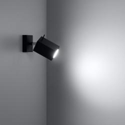 Sieninis šviestuvas MERIDA juodas - 3 - 21,42€