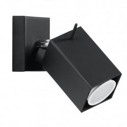 Sieninis šviestuvas MERIDA juodas - 4 - 21,42€
