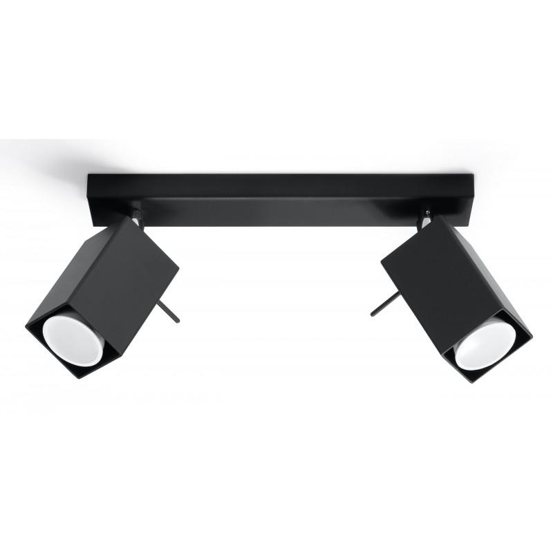 Plafonas MERIDA 2 juodas - 1 - 38,84€