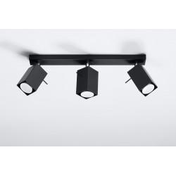 Plafonas MERIDA 3 juodas - 2 - 54,78€