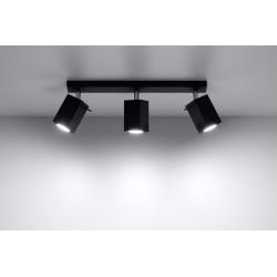 Plafonas MERIDA 3 juodas - 3 - 54,78€