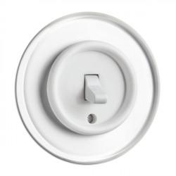 THPG svirtelinis duroplasto perjungiklis su stikliniu rėmeliu