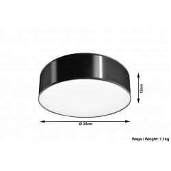 Plafonas ARENA 35 juodas - 5 - 51,40€