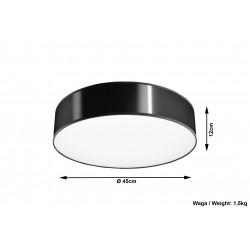 Plafonas ARENA 45 juodas - 5 - 63,94€