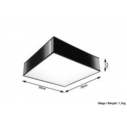 Plafonas HORUS 35 juodas - 4 - 58,66€