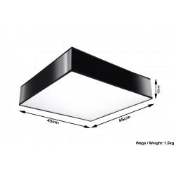 Plafonas HORUS 45 juodas - 5 - 73,33€