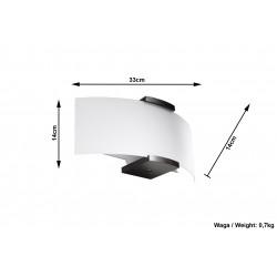 Sieninis šviestuvas EMILIO - 5 - 43,31€