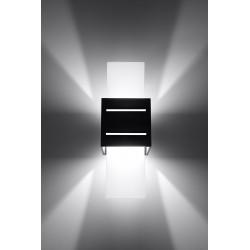 Sieninis šviestuvas LORETO juodas - 3 - 32,32€