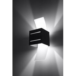 Sieninis šviestuvas LORETO juodas - 4 - 32,32€