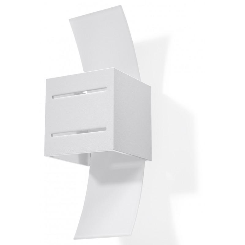 Sieninis šviestuvas LORETO baltas - 1 - 32,32€