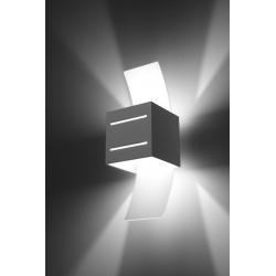 Sieninis šviestuvas LORETO baltas - 3 - 32,32€