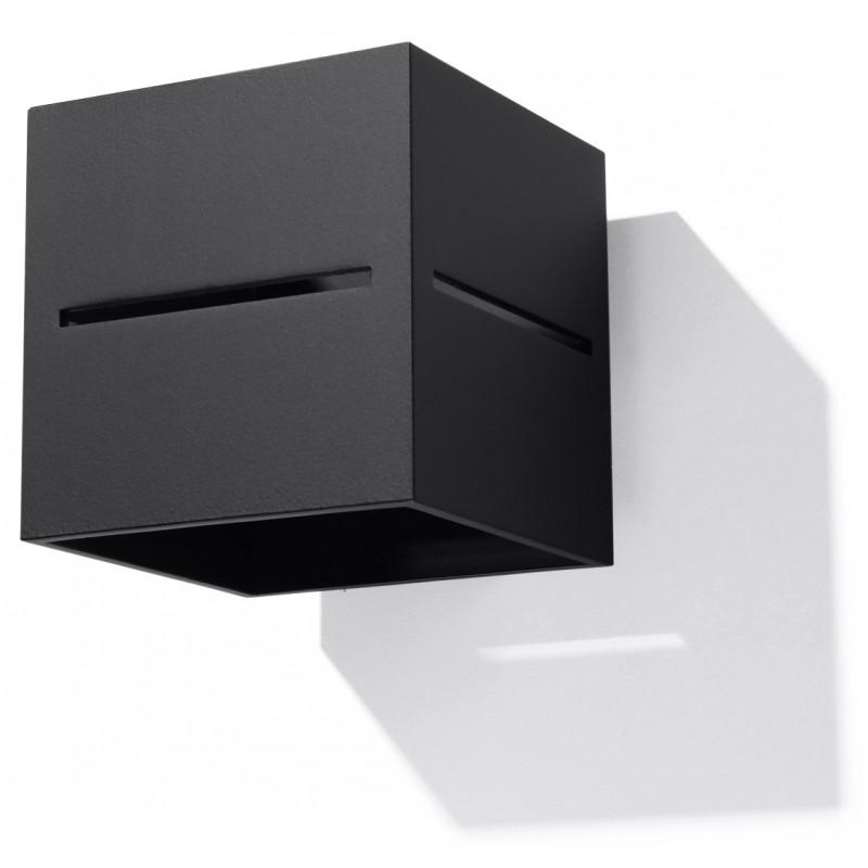 Sieninis šviestuvas LOBO juodas - 1 - 28,96€