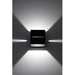 Sieninis šviestuvas LOBO juodas - 4 - 28,96€