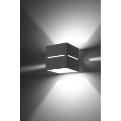 Sieninis šviestuvas LOBO pilkas - 3 - 28,96€