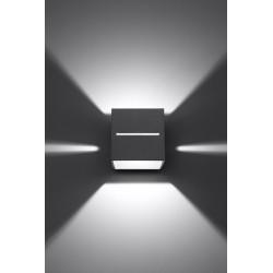 Sieninis šviestuvas LOBO pilkas - 4 - 28,96€