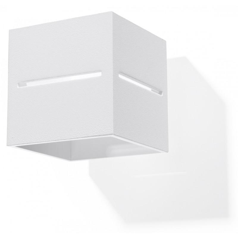Sieninis šviestuvas LOBO baltas - 1 - 28,96€