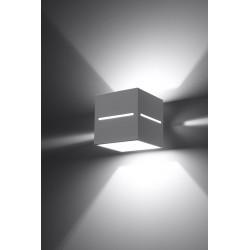 Sieninis šviestuvas LOBO baltas - 3 - 28,96€