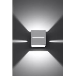 Sieninis šviestuvas LOBO baltas - 4 - 28,96€