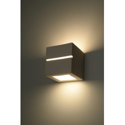 Sieninis keraminis šviestuvas LEO LINE - 3 - 21,99€