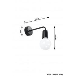 Sieninis šviestuvas DUOMO - 4 - 22,92€
