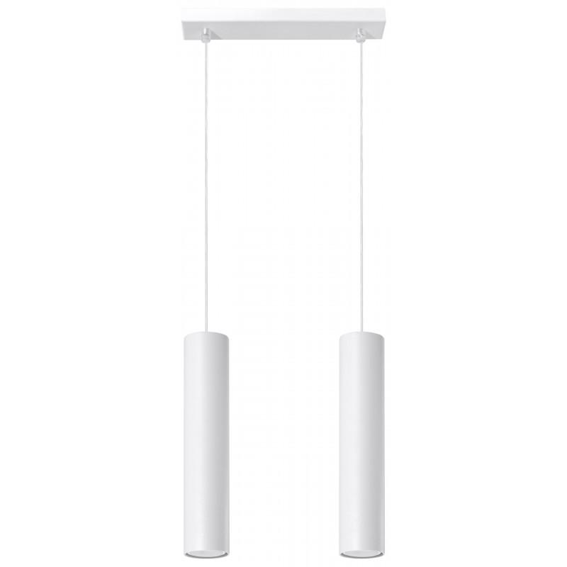 Pakabinamas šviestuvas LAGOS 2 baltas - 1 - 58,70€
