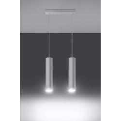 Pakabinamas šviestuvas LAGOS 2 baltas - 3 - 58,70€