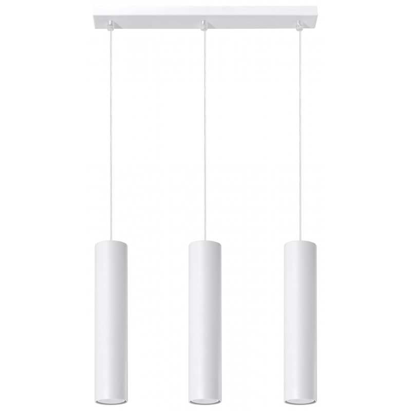 Pakabinamas šviestuvas LAGOS 3 baltas - 1 - 81,26€