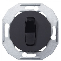Schneider Electric Renova serijos vienos grupės jungiklis juodas