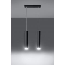 Pakabinamas šviestuvas LAGOS 2 juodas - 3 - 58,70€