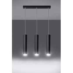 Pakabinamas šviestuvas LAGOS 3 juodas - 3 - 81,26€