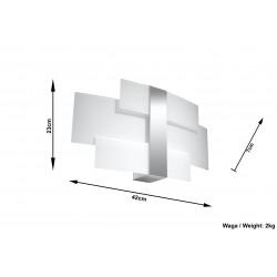 Sieninis šviestuvas CELIA - 4 - 56,70€