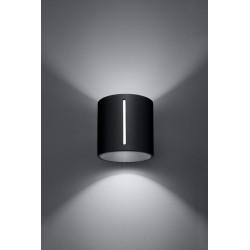 Sieninis šviestuvas INEZ juodas - 3 - 28,64€