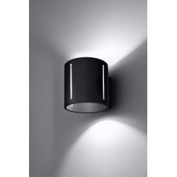 Sieninis šviestuvas INEZ juodas - 4 - 28,64€