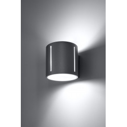 Sieninis šviestuvas INEZ pilkas - 3 - 28,64€