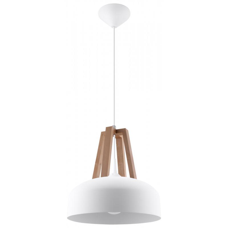 Pakabinamas šviestuvas CASCO baltas - 1 - 54,50€