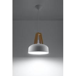 Pakabinamas šviestuvas CASCO baltas - 3 - 54,50€