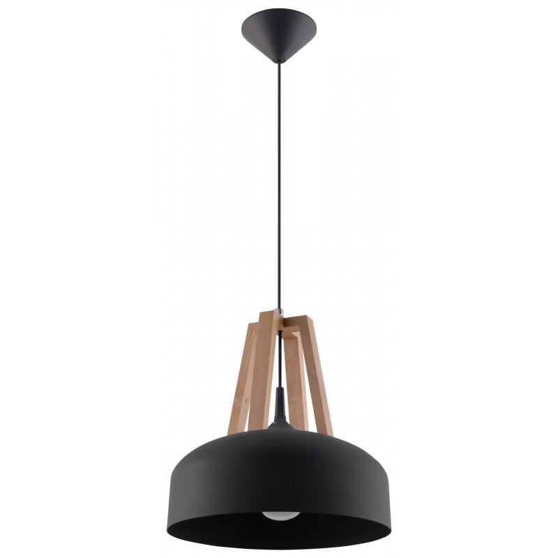 Pakabinamas šviestuvas CASCO juodas - 1 - 54,50€