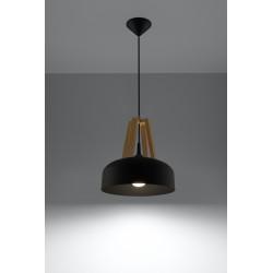 Pakabinamas šviestuvas CASCO juodas - 2 - 54,50€