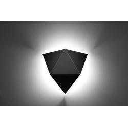 Sieninis šviestuvas SOLIDO juodas - 3 - 31,36€