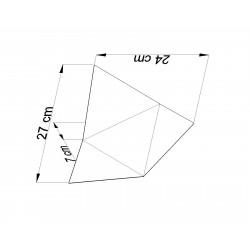 Sieninis šviestuvas SOLIDO juodas - 4 - 31,36€