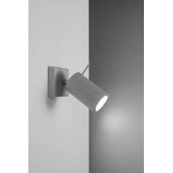 Sieninis šviestuvas RING 1 pilkas - 3 - 19,05€
