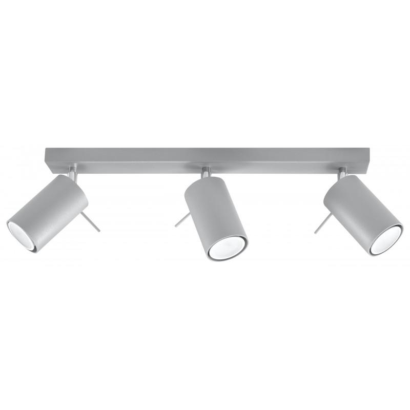 Lubinis šviestuvas RING 3 pilkas - 1 - 47,60€
