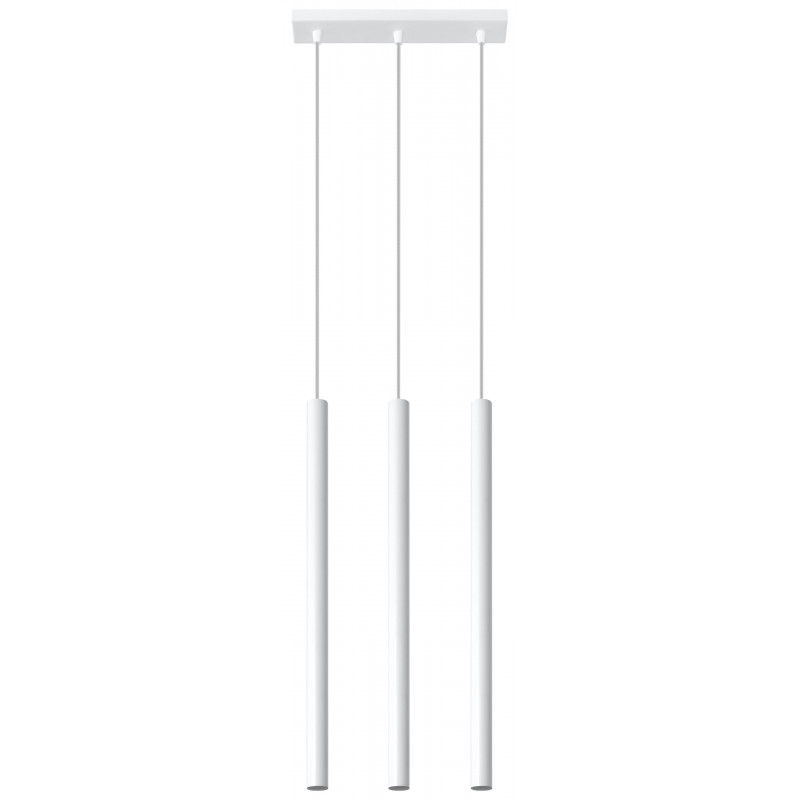 Pakabinamas šviestuvas PASTELO 3 baltas - 1 - 59,24€