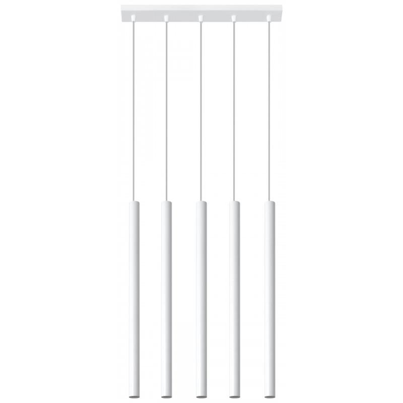 Pakabinamas šviestuvas PASTELO 5 baltas - 1 - 92,14€